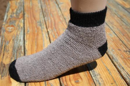SlipperBootie Alpaca Socks - Made in the USA - Set of 2