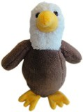 Baby Eagle Stuffed Animal Toy Made in USA