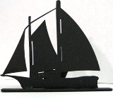 Sailboat Windjammer Doorstop Made in USA