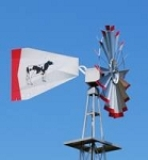 20' Pond Aeration Windmill Made in America