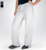 Women's Open Leg Sweatpants Made in USA