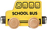 Maple Landmark Color Cars - School Bus - Made in USA