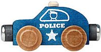Maple Landmark Color Cars - Police - Made in USA