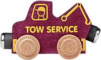 Maple Landmark Color Cars - Tow Truck - American Made