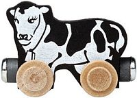 Maple Landmark Color Cars - Clover The Cow - Made in USA