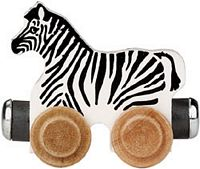 Maple Landmark Color Cars - Zoe Zebra - American Made