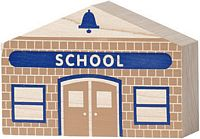 Maple Landmark 10662 NAMETRAIN- BUILDINGS- SCHOOL - American Made