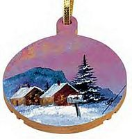 Maple Landmark Ornaments - Ball