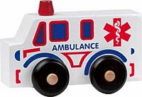 Maple Landmark Scoots - Ambulance Toy