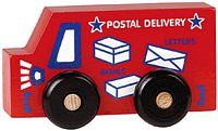 Maple Landmark Scoots - Postal Truck Toy