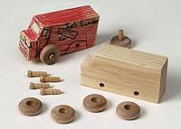 Maple Landmark Made By Me Kits - Truck - American Made