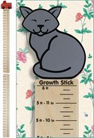 Maple Landmark Growth Sticks - Cat - American Made