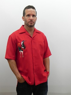 Big Rooster Short Sleeve Casual Shirt Made in America
