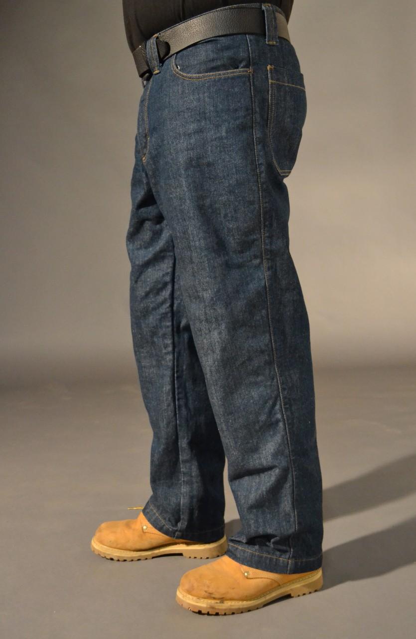 Usab2c Denim Work Pant With Knee Pad Pockets American