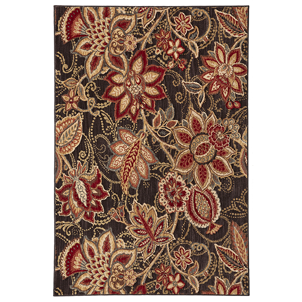 Mohawk Dryden Concord Black Area Rug Made In USA