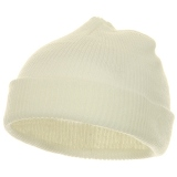 Infant Knit Cuff Beanie Made in USA